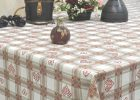 Tablecloths: New Red Wipeable Tablecloth Red Wipeable Tablecloth ..