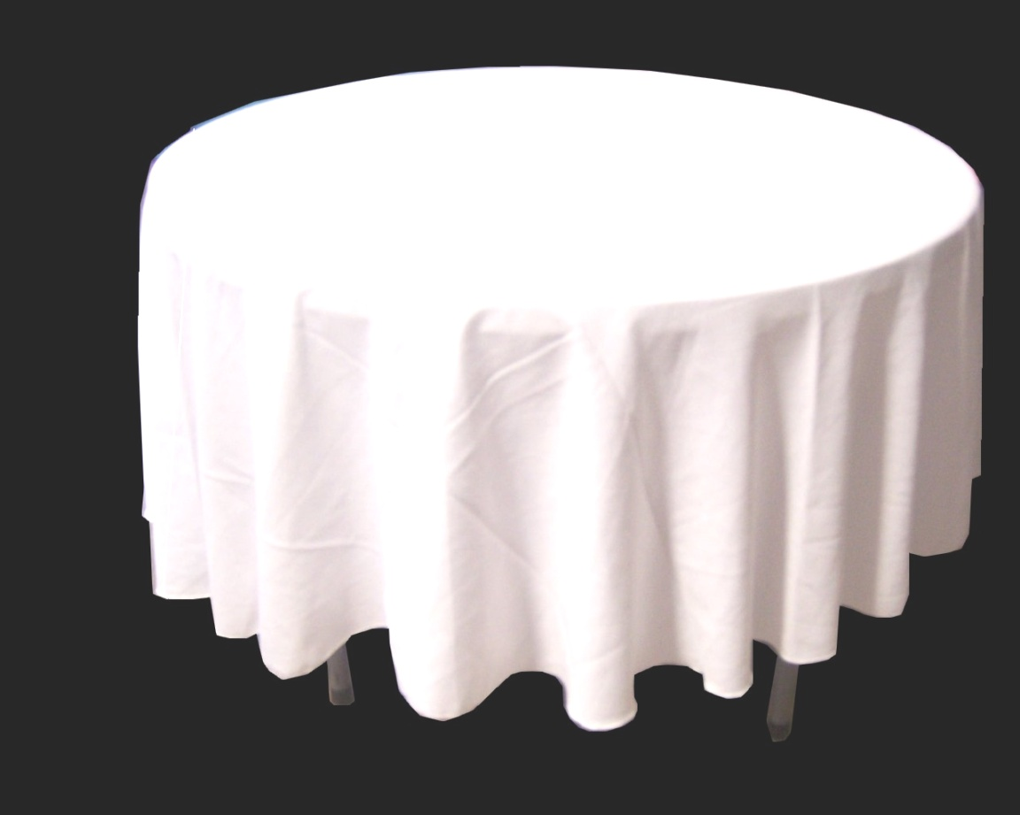 round table linens | White Round Table Linens - Thediapercake Home Trend | round table linens