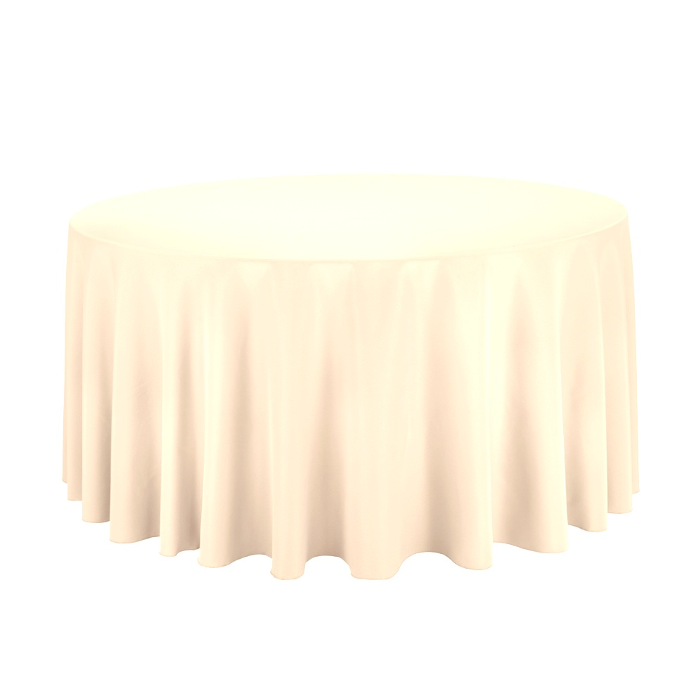 round table linens | Why do we recommend polyester tablecloths as the go-to event ..