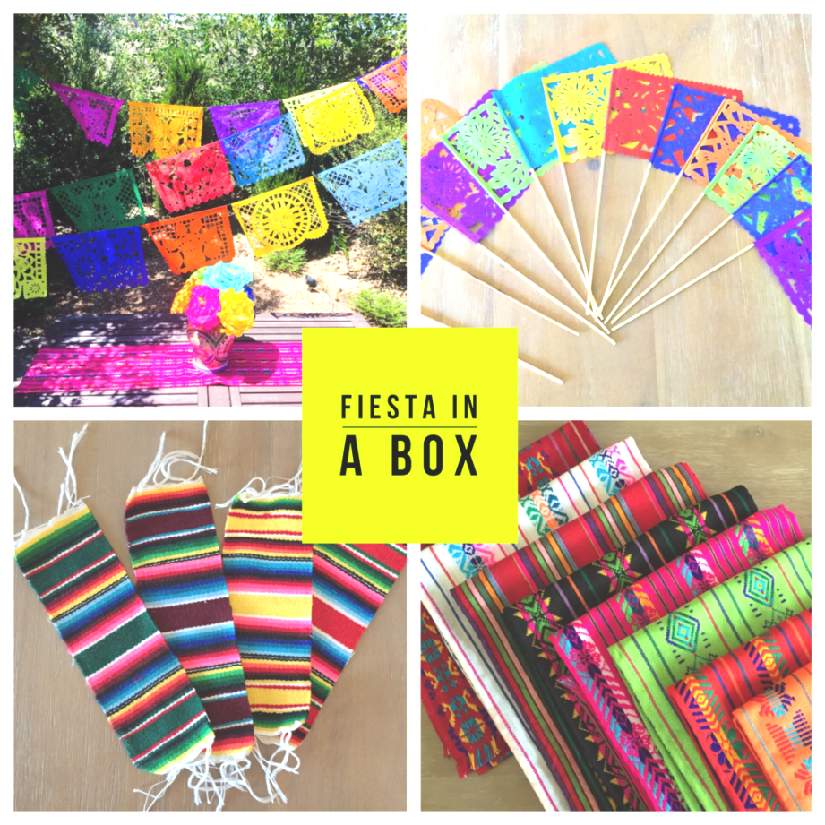 fiesta table linens | Fiesta in a box Mexican Party pack decoration set | Fiestas ..