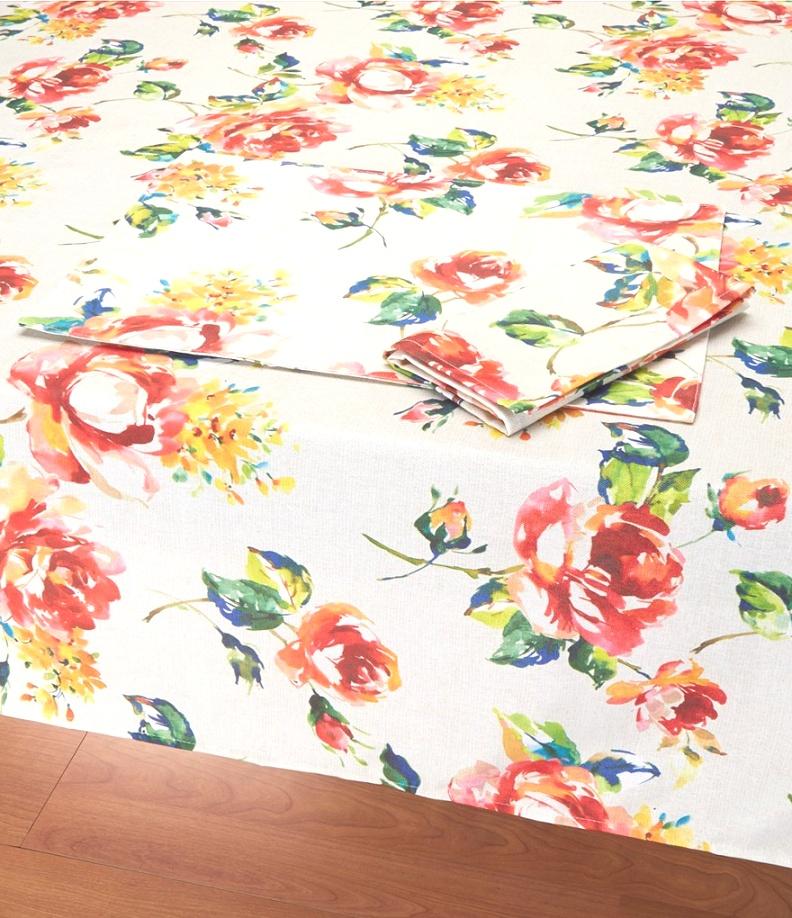 fiesta table linens | Fiesta Floral Bouquet Table Linens | Dillards | fiesta table linens