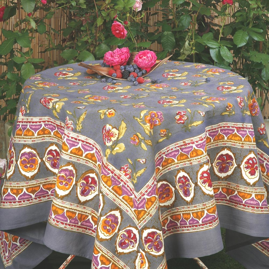 fall table linens | Popular Fall Tablecloths ~ Home Decorations : Nice Fall ..