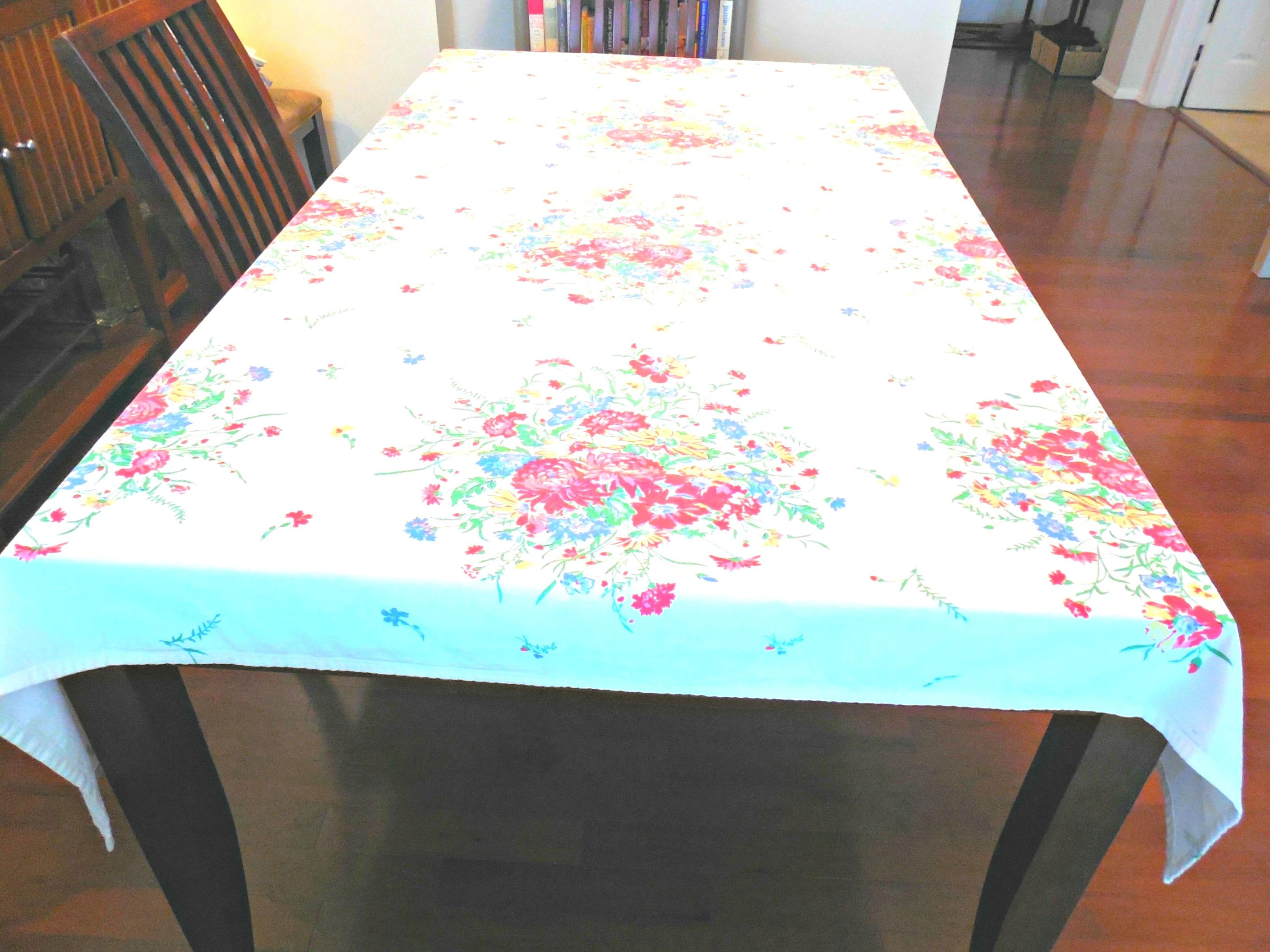 xochi table linens | Vintage Xochi tablecloth On Etsy BeautyFromThePast | Vintage ..