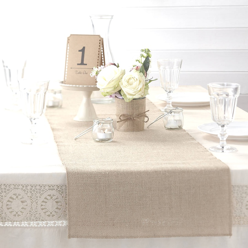 linen runners for tables | Linen Table Runners Decor - Thediapercake Home Trend | linen runners for tables