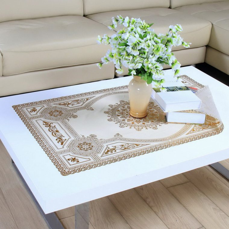Coffee Table Cover-buy-european-pvc-gilt-tablecloth-tv-cabinet-dresser-nightstand-with-regard-to-coffee-table-cloth-plan