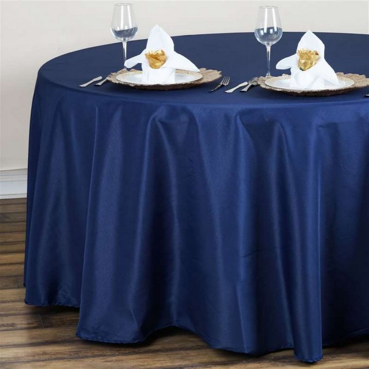 navy blue plastic tablecloth-cheap-navy-blue-tablecloths-table-navy-color-modern-design-table-decor-wedding-restaurant
