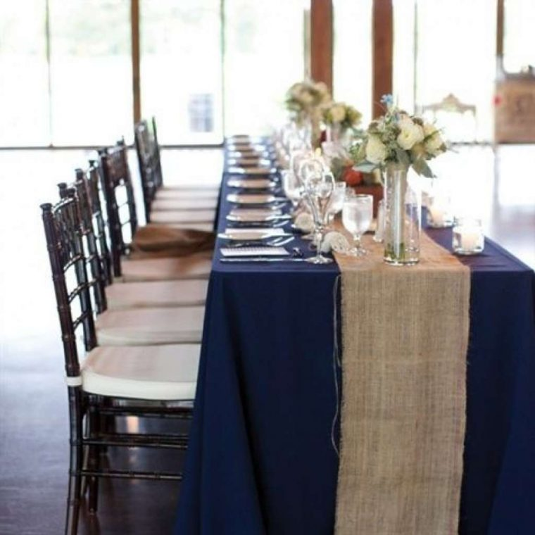 navy-blue-plastic-tablecloth-extra long tablecloth-navy-blue-plastic-tablecloth
