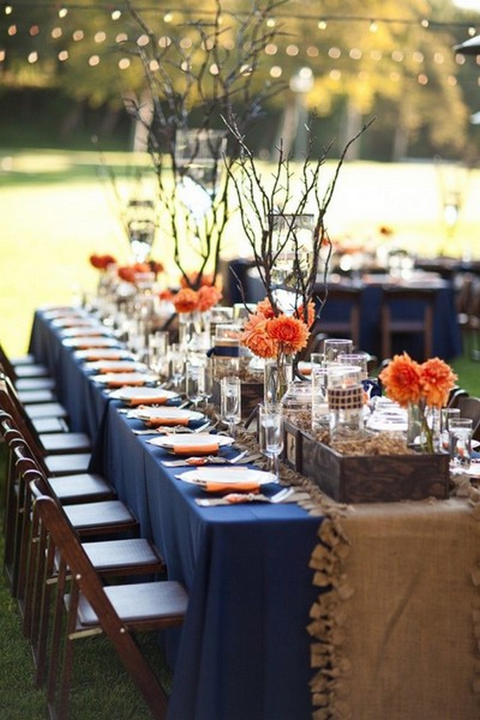navy blue plastic tablecloth-runner-inspiration-extra long tablecloth