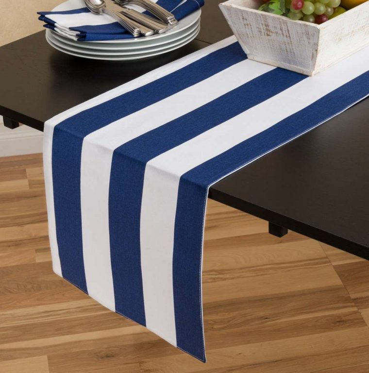 navy-blue-white-striped-table-runners-table-designs-with-size-navy blue plastic tablecloth