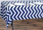 navy plastic tablecloth x disposable chevron vinyl blue striped extra long tablecloth