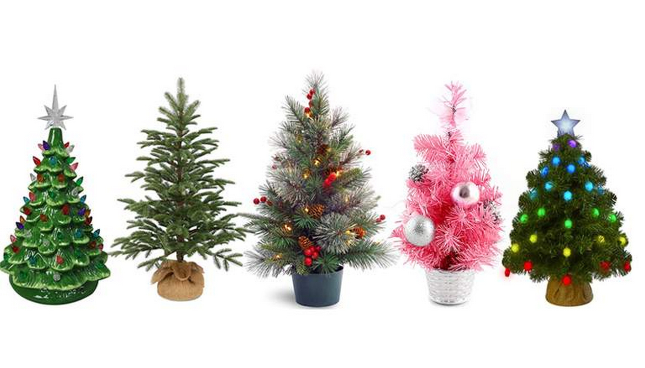 8 Tabletop Christmas Tree Ideas for Dining Room Table Decorations | Table Covers Depot