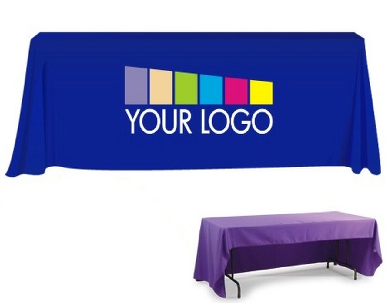 Why You Should Buy Custom Table Skirt with Logo | Table Covers Depot