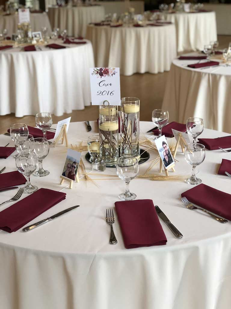 4 Ways to Maintain Ivory Table Linen for Your Special Occasion