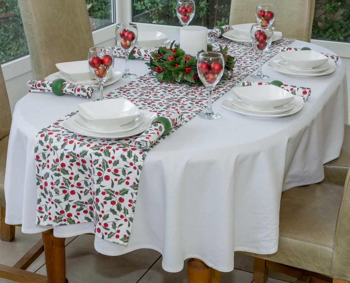 Steps to Transform Your Boring Table Using Oval Tablecloth