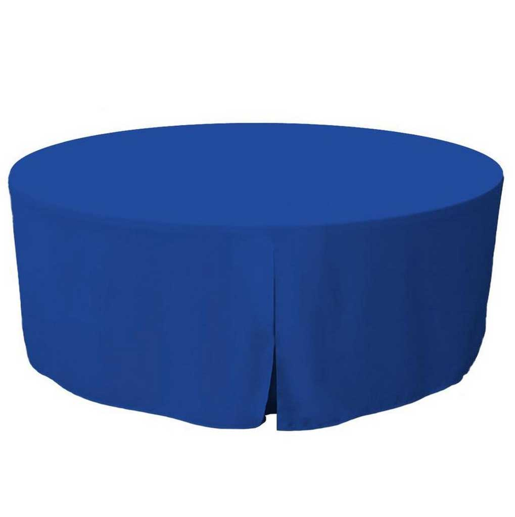 Types of Tablecloth in Royal Blue Hues for Your Special Occasions