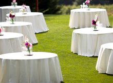 Table Linen Ideas for Perfect Wedlock Ceremony